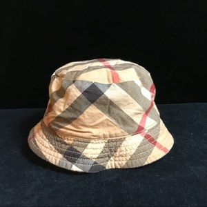 Authentic BURBERRY kids/baby white sun hat size 44